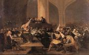 Francisco Goya Inquisition Scene oil painting picture wholesale