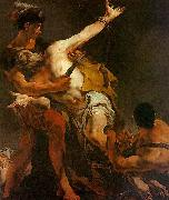 Giovanni Battista Tiepolo The Martyrdom of St. Bartholomew oil painting picture wholesale