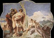 Giovanni Battista Tiepolo Rinaldo Abandoning Armida oil painting picture wholesale