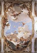 Giovanni Battista Tiepolo The Apotheosis of the Pisani Family oil painting picture wholesale