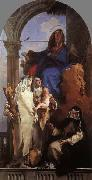Giovanni Battista Tiepolo The Virgin Appearing to Dominican Saints oil painting picture wholesale