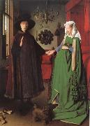 Jan Van Eyck Betrothal of the Arnolfinis oil painting picture wholesale