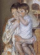 Mary Cassatt Child  in mother-s arm oil painting picture wholesale