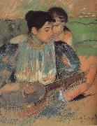 Mary Cassatt Banjo class oil painting picture wholesale