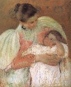Mary Cassatt Betweenmaid with kid oil painting picture wholesale
