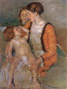 Mary Cassatt Mother and her children oil painting picture wholesale