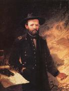 Ole Peter Hansen Balling Ulysses S.Grant oil painting reproduction