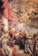 Paolo  Veronese The Marriage of St Catherine oil painting picture wholesale
