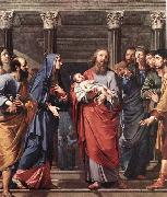 Philippe de Champaigne The Presentation of the Temple oil painting picture wholesale