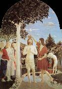 Piero della Francesca The Baptim of Christ oil painting picture wholesale