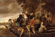 REMBRANDT Harmenszoon van Rijn The merry homecoming oil painting picture wholesale