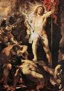 RUBENS, Pieter Pauwel The Resurrection of Christ oil painting picture wholesale