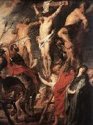 RUBENS, Pieter Pauwel Christ on the Cross between the Two Thieves oil painting picture wholesale