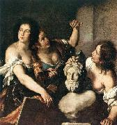 STROZZI, Bernardo Allegory of Arts oil painting picture wholesale