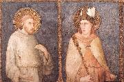 Simone Martini St Francis and St Louis of Toulouse oil painting picture wholesale