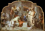 TIEPOLO, Giovanni Domenico The Beheading of John the Baptist oil painting picture wholesale