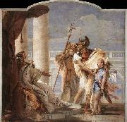 TIEPOLO, Giovanni Domenico Aeneas Introducing Cupid Dressed as Ascanius to Dido oil painting picture wholesale
