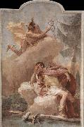 TIEPOLO, Giovanni Domenico Mercury Appearing to Aeneas oil painting picture wholesale