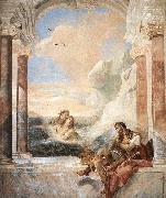 TIEPOLO, Giovanni Domenico Thetis Consoling Achilles oil painting picture wholesale