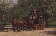 Thomas Eakins Wagon oil painting picture wholesale