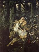 Viktor Vasnetsov Ivan the Tsarevich Riding the Grey Wolf oil painting artist