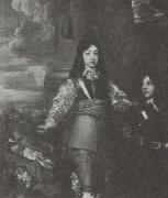 William Dobson Charles II as a boy commander oil painting artist