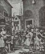 William Hogarth Times of Day oil painting picture wholesale