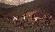 Winslow Homer Play game oil painting picture wholesale