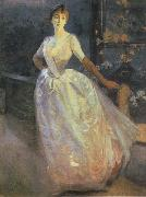 Albert Besnard Portrait of Madame Roger Jourdain oil painting
