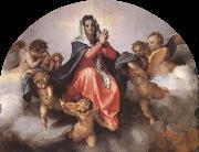 Andrea del Sarto Details of the Assumption of the virgin oil painting picture wholesale