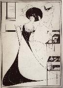 Aubrey Beardsley The Toilet of Salome oil painting artist