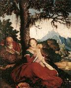 BALDUNG GRIEN, Hans Rest on the Flight to Egypt oil painting picture wholesale