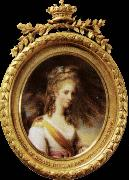 BONE, Henry Miniature of lady dysart oil painting