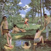 Bazille, Frdric Bathers oil painting artist