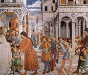 Benozzo Gozzoli Scenes From the Life of St.Augustine oil painting picture wholesale