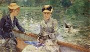 Berthe Morisot Summer day oil painting picture wholesale