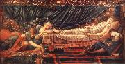 Burne-Jones, Sir Edward Coley Sleeping Beauty oil painting picture wholesale