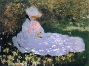 Claude Monet The Reader oil painting picture wholesale