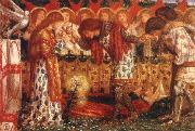 Dante Gabriel Rossetti Sir Bors and Sir Percival were Fed with the Sanct Grael oil painting picture wholesale