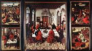 Dieric Bouts Altarpiece of the Holy Sacrament oil painting picture wholesale