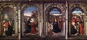 Dieric Bouts Triptych of the Virgin oil painting picture wholesale