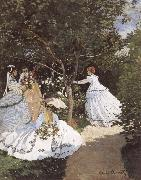 Edouard Manet Women in the Garden oil painting picture wholesale