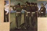 Edouard Manet The Execution of Emperor Maximilian oil painting picture wholesale