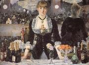 Edouard Manet The bar on the Folies-Bergere oil painting picture wholesale