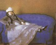 Edouard Manet Madame Manet on a Divan oil painting reproduction