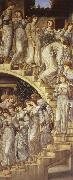 Edward Burne-Jones The golden staircase oil painting picture wholesale