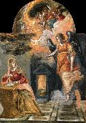 El Greco Annunciation oil painting picture wholesale