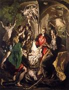 El Greco The Adoratin of the Shepherds oil painting picture wholesale