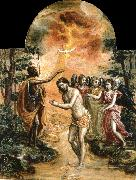 El Greco The Baptism of Christ oil painting picture wholesale