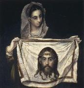 El Greco St Veronica  Holding the Veil oil painting picture wholesale